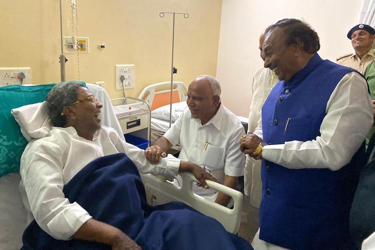 At Siddaramaiahs hospital bedside Kannada kalachara still going strong