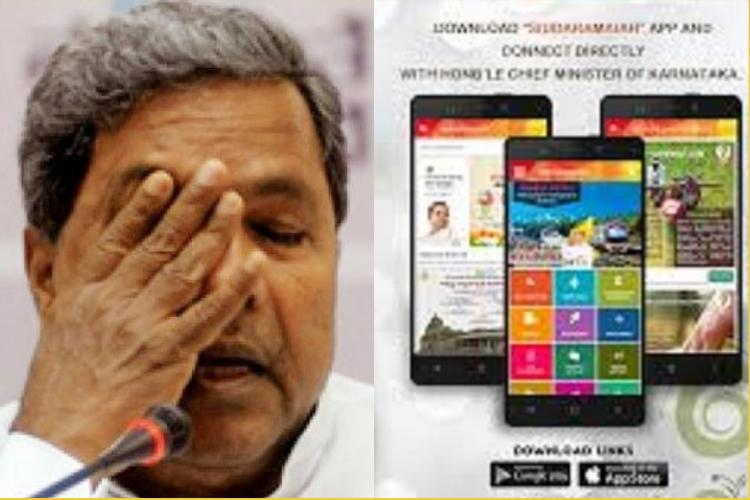Amidst data harvesting allegations Karnataka CM Siddaramaiah pulls down his app