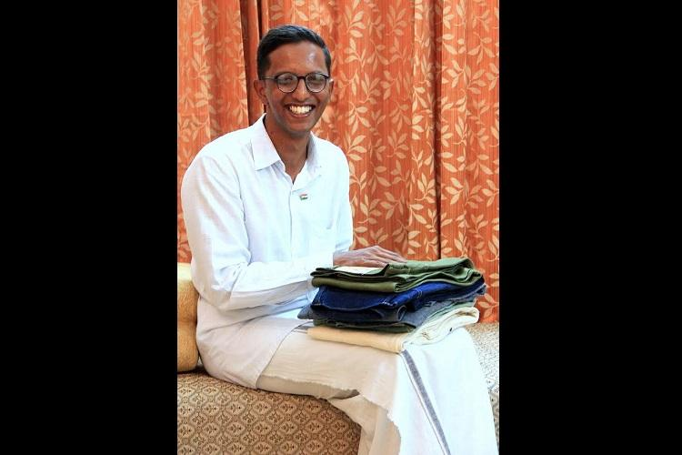 Giving up jeans for the mundu this Kerala student now runs a khadi denim business