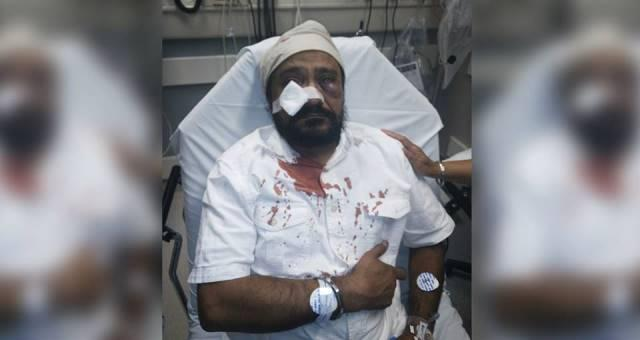 Sikh man brutally assaulted in US on 911 eve gets called terrorist and Bin Laden