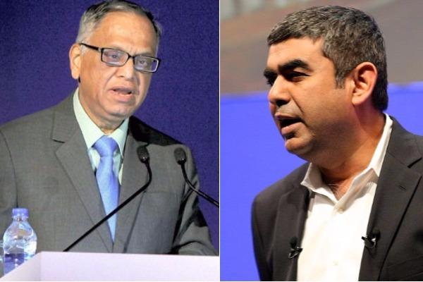 Infosys Board stands with Vishal Sikka blames Murthys continuous assault for his exit