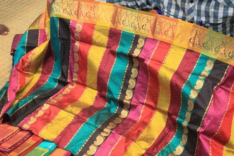 Protests erupt as Ktaka Silk Industries Corp calls off much-anticipated I-Day saree sale