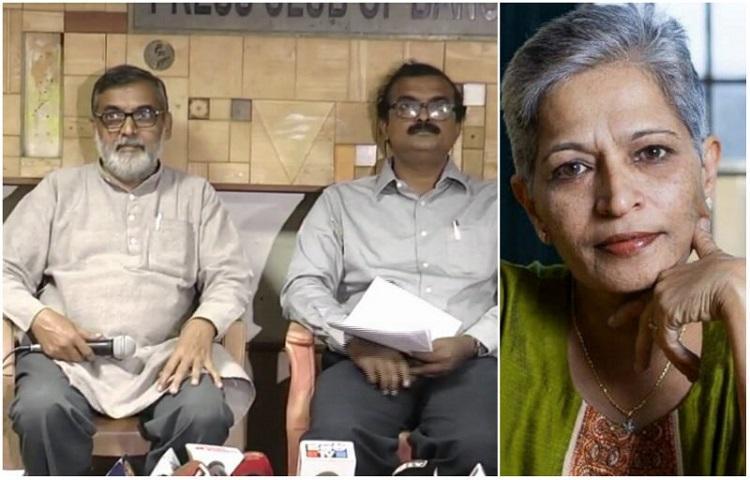 Naxals didnt kill Gauri Lankesh probe the RSS Former Naxal leaders speak out