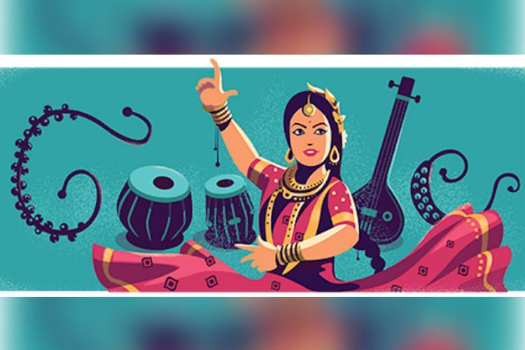 Google doodle celebrates Kathak legend Sitara Devis birthday