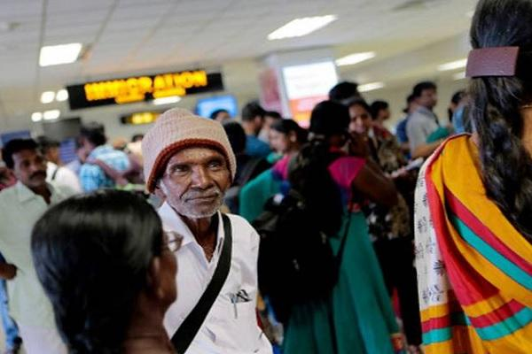 Anxious and excited Sri Lankan refugees are leaving India in search of freedom