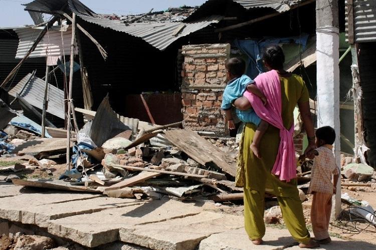 Buried under cosmopolitan Bengaluru is our dignity aspirations slum dwellers