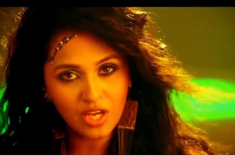 Video Singer Smita releases new song in Kiliki Bahubalis fictional language