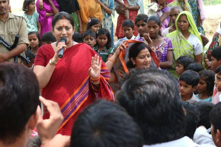 Why a lot of people are barking up the wrong tree with Smriti Iranis education yet again
