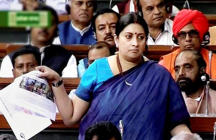 Telangana Police report Smriti Irani quoted from makes no mention of doctor absent or present
