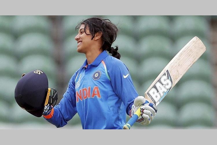 Smriti Mandhana wins ICC Womens Cricketer of the Year Award