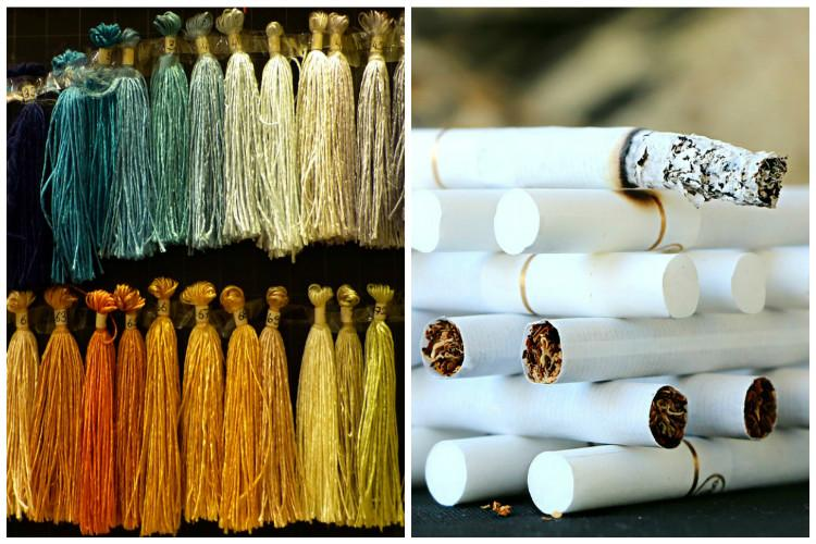 Cigarette fabric and silk yarn highest smuggled goods in 2015-16 FICCI