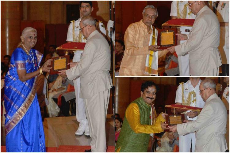 The gems of south India This years Sangeet Natak Akademi awardees
