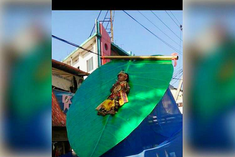 Rights panel takes case after 3 yr old tied to peepal leaf during Lord Krishna procession
