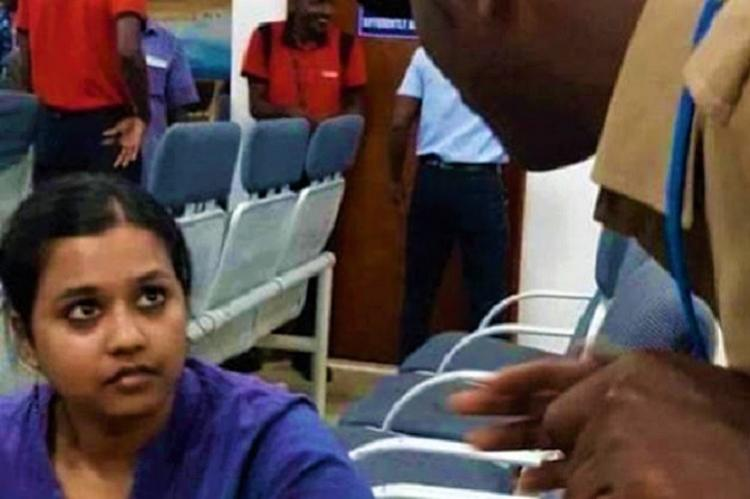 Sofia student arrested for sloganeering at BJPs Tamilisai given bail