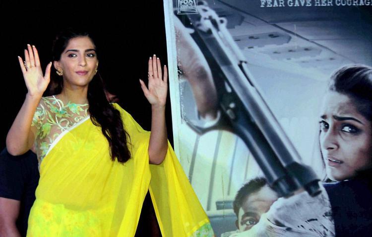 Extremely disheartened that Neerja not releasing in Pakistan Sonam Kapoor