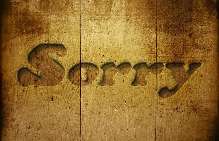 Why do we say sorry so much