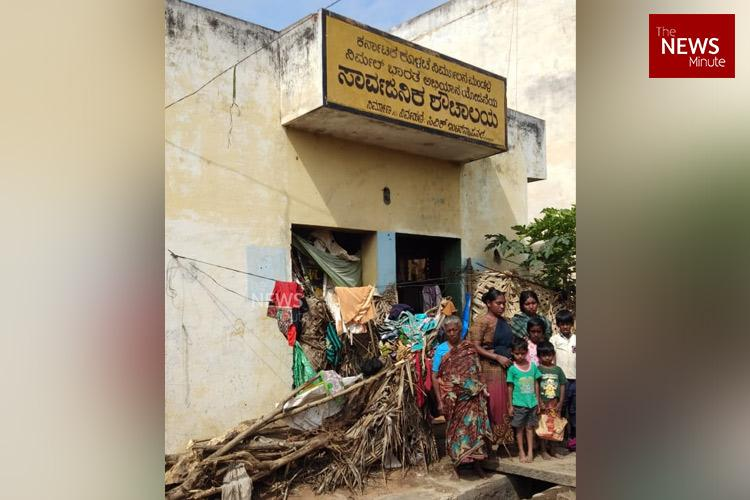 Apathy forced this Ktaka family to live in a toilet for 7 yrs They now face eviction
