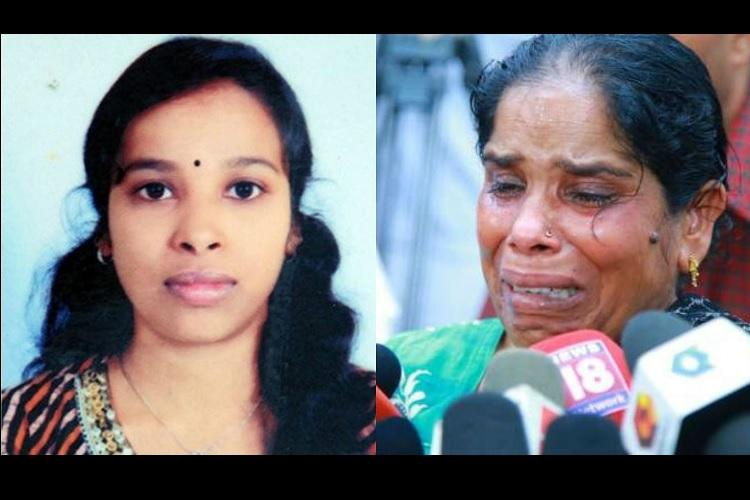 Mother of Soumya heartbroken as SC rejects Kerala govt review petition