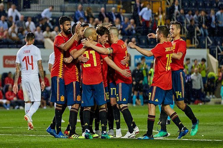 Spain Switzerland draw 1-1 in World Cup warm-up