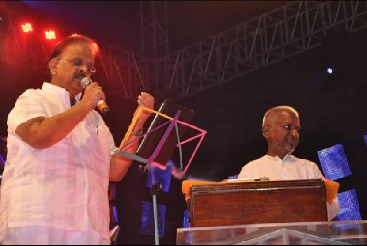 SPB receives legal notice from Ilayaraja