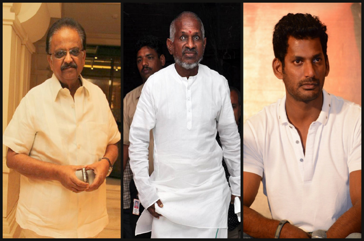 Vishal tries bring peace between Ilaiyaraaja and SPB Nadigar Sangam to organise grand ceremony for composer