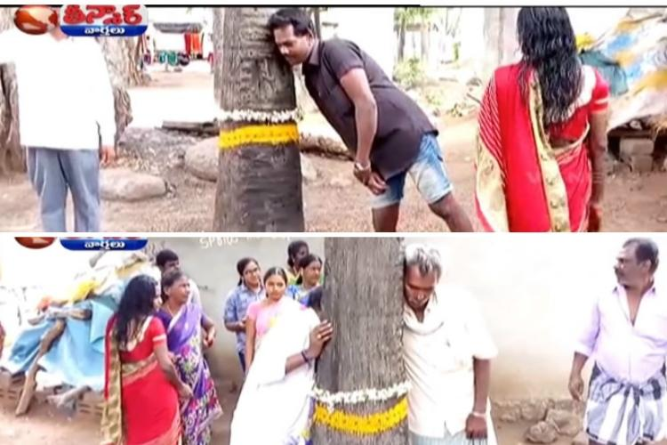 Myth of the speaking tree goddess How cops busted the rumour in Telangana village
