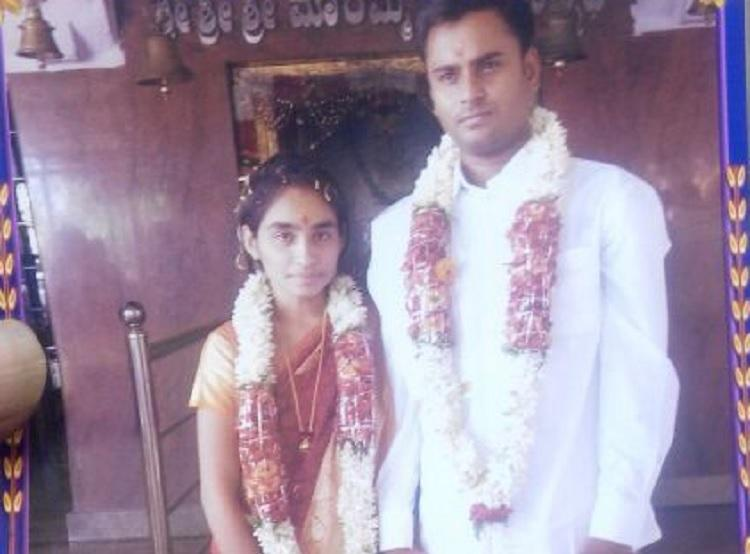 Video footage shows angry family members kidnap newly wed