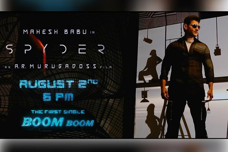 Spyder first single Boom Boom to be out on August 2