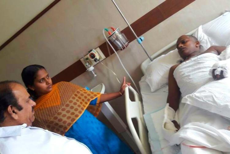 Visit us too wife of CPI M worker attacked by RSS cadres writes to Jaitley