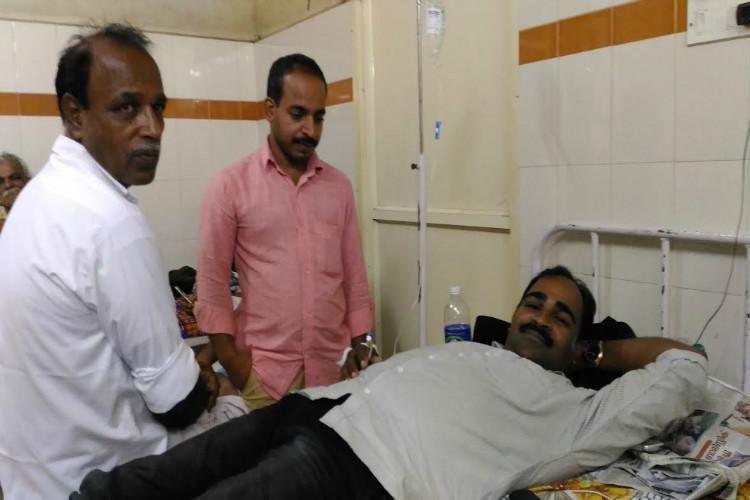 Following non-renewal of CPI M membership Jishnus uncle quits from Deshabhimani