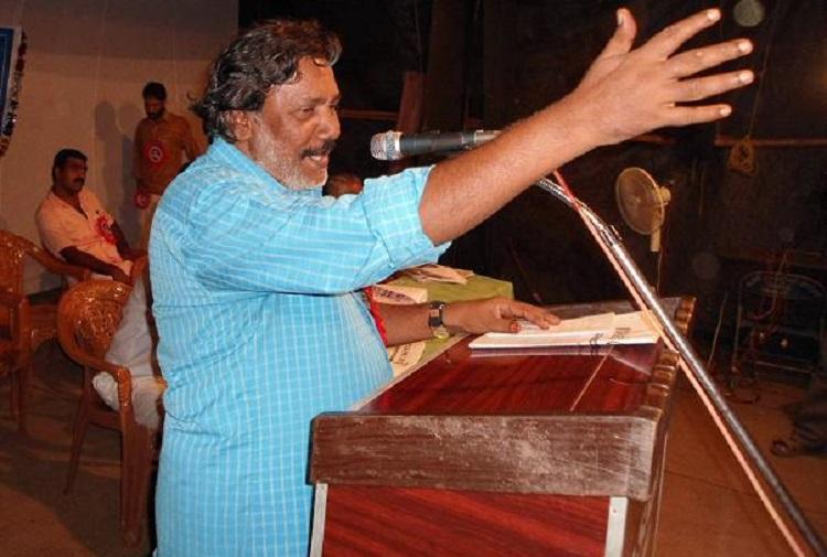 Sreekumar insulted Hindu gods in speech BJP files complaint against Kerala poet