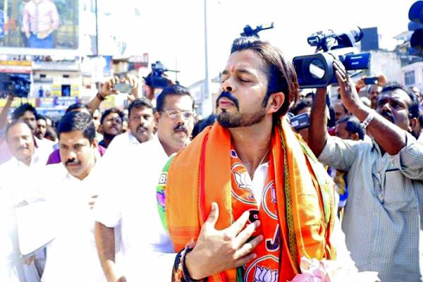 Sreesanth calls Kerala a city war of words follows on Twitter
