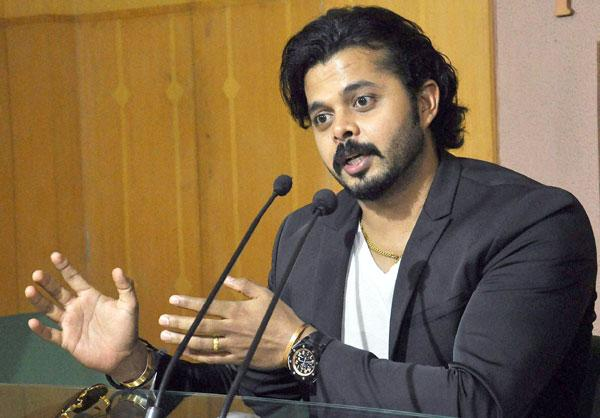 Sreesanth to contest for BJP from Thiruvananthapuram in assembly polls