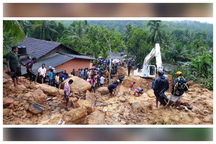 At least 91 people killed in floods landslides in Sri Lanka