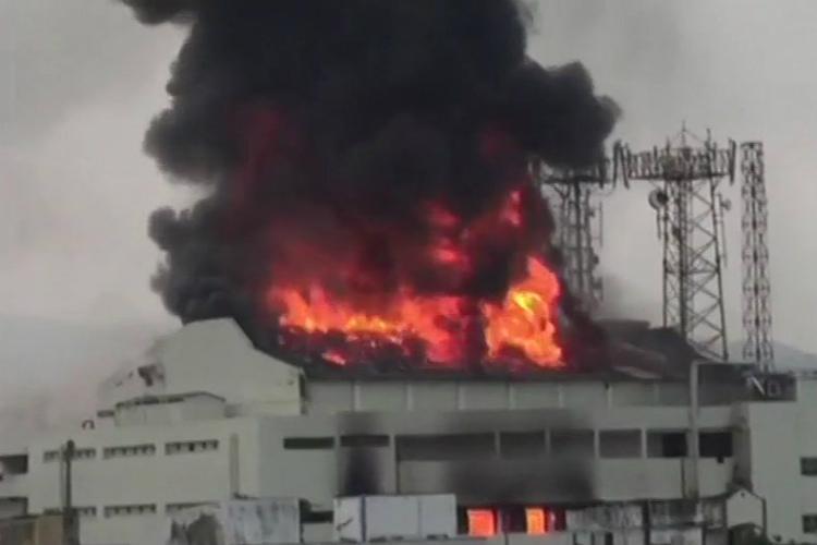 Fire at Visakhapatnams Sri Kanya Cinema Hall no casualties reported