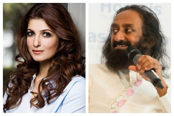 Sri Sri under fire again as Twitter rises up for Twinkle Khanna