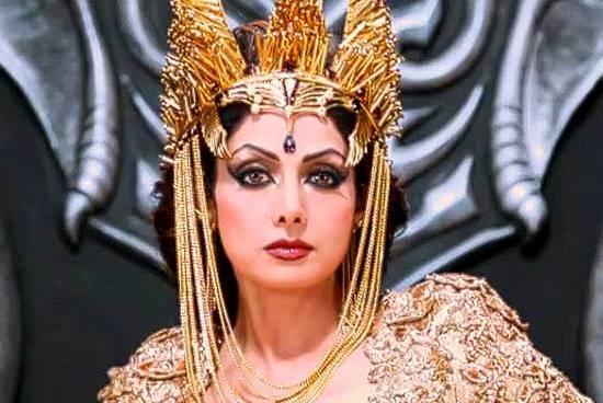 Sridevi unveils her look from Tamil film Puli