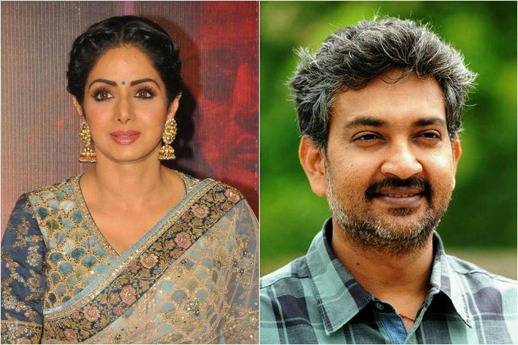 SS Rajamouli and Sridevi set aside differences to work together