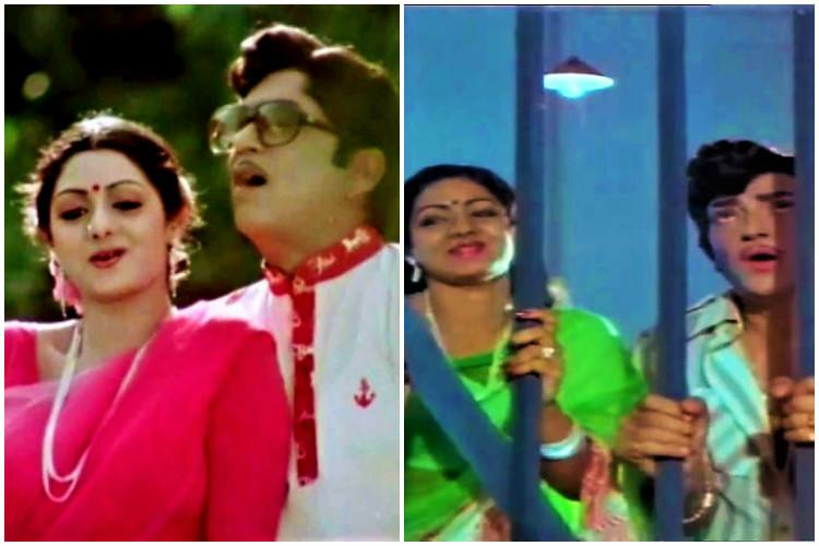 From ANR to NTR Tracing Sridevis career in the Telugu film industry