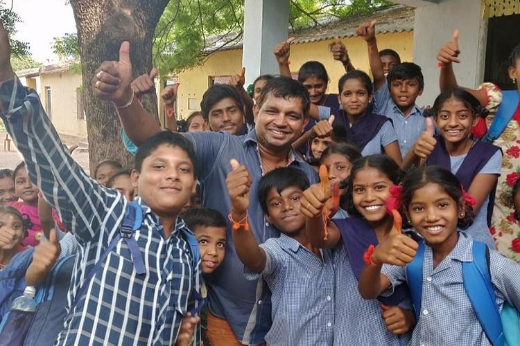 From toilets to sports wear this Telangana man is providing for 34 govt schools