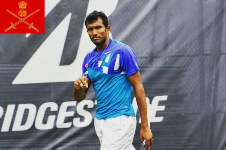 Sriram Balaji becomes first Indian army man to qualify for Wimbledon