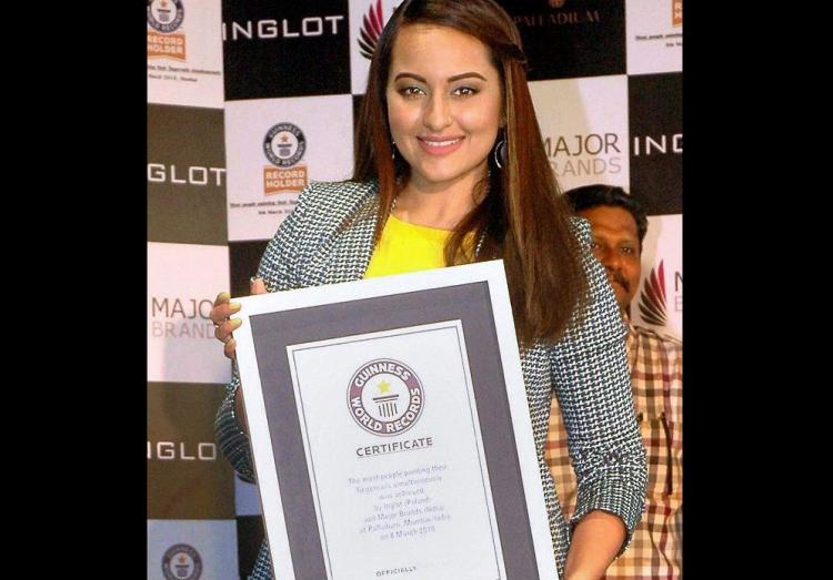 Heres why Sonakshi Sinha is now on Guinness Book of Records