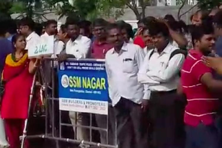 Chennai school calls parents protesting Rs 2 lakh caution deposit unruly elements