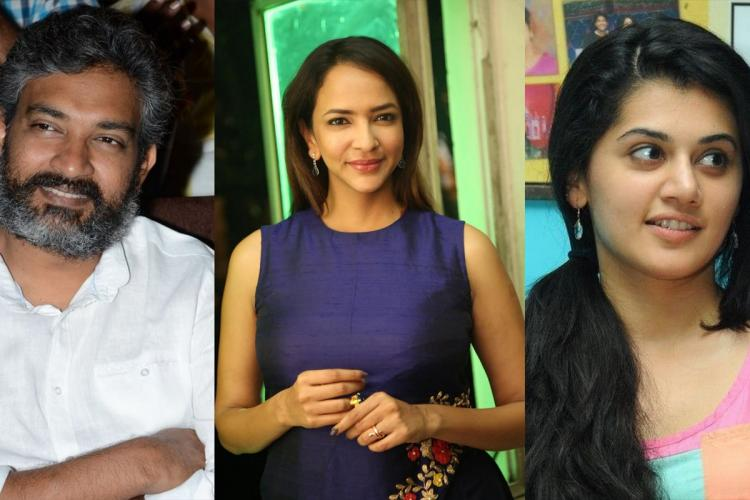 SS Rajamouli Taapsee and other celebs on Lakshmi Manchus talk show