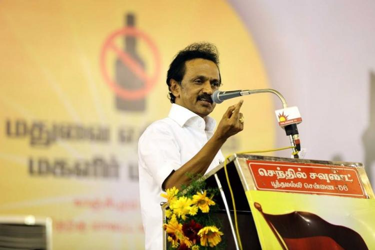 Following a Stalin-surge Karunanidhi steps in Should Stalin be declared CM candidate
