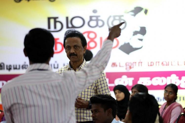 As Stalins mass-contact hits its final phase a glimmer of hope emerges within the DMK