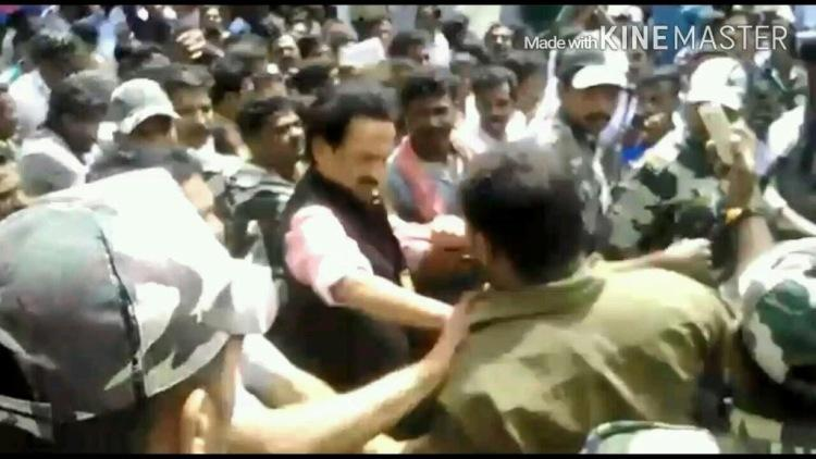 Its graphics says Stalin not a slap