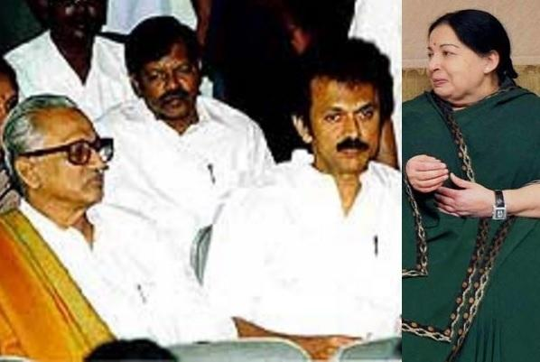 Jayas assurance to Stalin and seating gaffe not new happened with Anbazhagan in 2002
