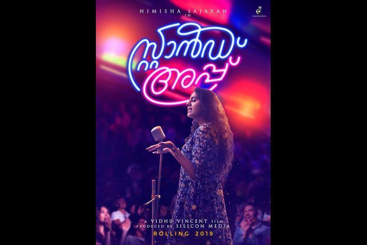 Director Vidhu Vincents second film Stand Up has Nimisha Sajayan in the lead