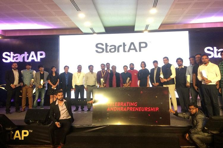 Andhra organizes StartAP awards Swiggy gets startup of year 3 T-Hub firms win awards